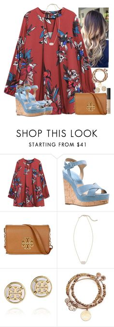 """""""~thursday~"""" by flroasburn on Polyvore featuring Michael Kors, Tory Burch, Kendra Scott, Alex and Ani and NARS Cosmetics"""