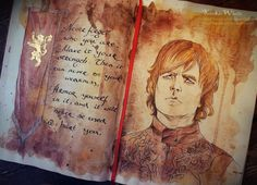 Watercolor GoT Character Portraits by Kinko-White
