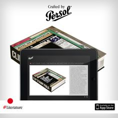 Discover craftsmanship in literature on our new iPad app, CraftedxPersol. Free download @ http://pers.sl/Q4wMuS