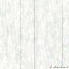 Esta Everybody Bonjour behang houten planken l.blauw - Esta Everybody bonjour behang+fotowanden - Esta home - Behang KIDS en Baby - Behangstore