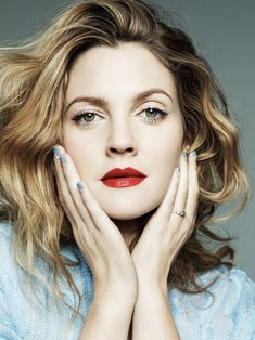 Drew Barrymore - Jan Welters Photoshoot for Marie Claire February 2014