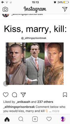 Kiss Lincoln, Marry Michael, Kill T-Bag