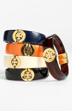 Tory Burch Hinged Bangles