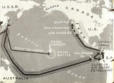 Axis Invasion – Plan Three calls for a southern Pacific crossing by Japan. Again the Jap Fleet, reinforced by the Germans, presumably has naval superiority over the U.S. Fleet. Probably first gun would be surprise bombing of Panama Canal, instantly followed by landings in Ecuador.