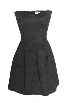 l'atiste strapless lace dress (bevello)