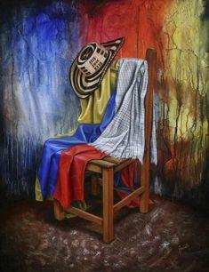 Comprar Rincon Tipico Colombiano - Pintura de Jose Gabriel Acuna Acuña por 2.430,00 EUR y 20% de descuento en Artelista.com, con gastos de envío y devolución gratuitos a todo el mundo Colombian Culture, Colombian Art, Hispanic Art, Artist Workshop, Colombia Travel, Magic Realism, Vintage Travel Posters, Art World, American Art