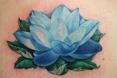 Ben Reese - Lotus Flower Tattoo; i like the detailed lines