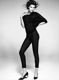 "Isabeli Fontana for Mango ""Simplicity"" Collection"