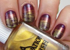 Elevation Polish Adventures of Marco Polo Collection Nail Art 2, gorgeous Fall nail art!
