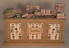 Sewing Counter by Loretta Kasza