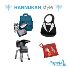 8 days of presents? At Liapela we have all the toys and products you might need for your Hanukkah celebrations. Hurry and get your gifts before Hanukkah ends! Shown above: @skiphop Forma Backpack Diaper Bag (US)$70 @mmdbaby Looking Dapper Bib (US)$17.99 @nuna_usa Zaaz High Chair (US)$299.95 @jellycat_official I Love My Grandma Book (US)$14.99 Like on Instagram @LiapelaModernBaby