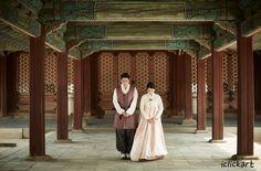 #한복 #경복궁 #전통혼례 #신혼부부 #커플한복 #고궁나들이 #엔파인 #아이클릭아트 #Korea #Traditional #wedding #bridal #hanbok #npine #iclickart