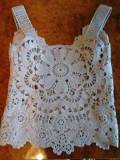 Crochet Tank Tops, Crochet Shirt, Crochet Baby Hats, Crochet Cardigan, Crochet Gifts, Crochet Clothes, Crochet Lace, Crochet Designs, Crochet Patterns