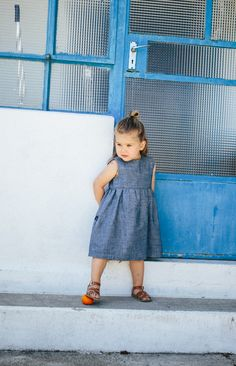 Jeans Twirl Dress