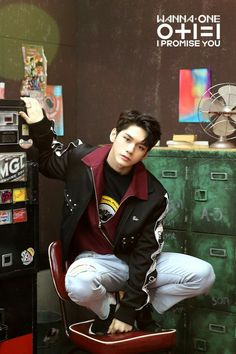 Ong Seong Wu is one of the members of Wanna One. He started to become famous after attending the reality show 'Produce 101 Season The boy group Wanna One is very popular after the show being released. His company is Fantagio. Jinyoung, K Pop, Ong Seung Woo, Cho Chang, Guan Lin, I Promise You, Kim Jaehwan, Ha Sungwoon, Produce 101
