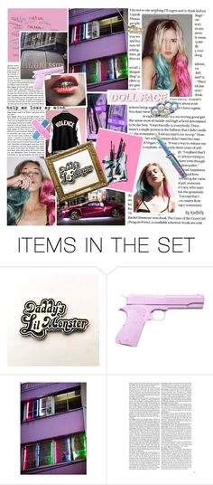 """""""Lucy Quinnzel DC/Sui.cide Squad OC"""" by kjvdolly ❤ liked on Polyvore featuring art, OC and DC"""