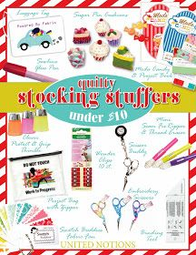 Moda... the Cutting Table: Quilty Stocking Stuffers... How Good Have YOU Been?
