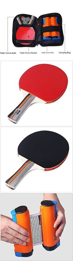 Sets 158955: Lionlaw Performance Table Tennis Set With Paddles And Balls And Net To Go -> BUY IT NOW ONLY: $30 on eBay!