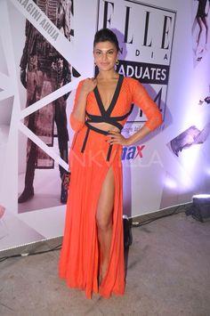 Jacqueline Fernandez was at the judging panel of Elle Graduates Fashion Show in Mumbai .