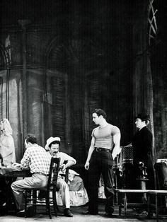 aladyloves:  Marlon Brando in the original stage production of A Streetcar Named Desire (1947)
