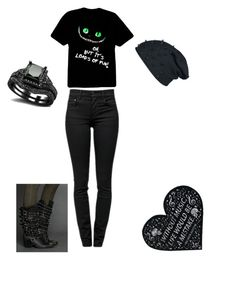 """""""black"""" by laughing-jacksgrl ❤ liked on Polyvore featuring Proenza Schouler and Vision"""
