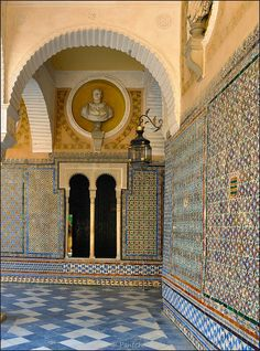 La Casa de Pilatos (Pilate's House) is an Andalusian palace in Seville, which serves as the permanent residence of the Dukes of Medinaceli. ...