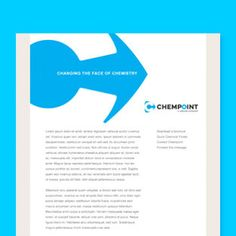 Chempoint brand identity, by Hornall Anderson