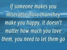 So true....but so hard