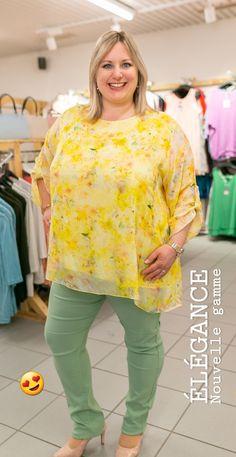 La collection de printemps offre une nouvelle gamme à la mode grande taille. #tunique #tendance #printemps #mode #femme Sweatshirts, Sweaters, Fashion, Plus Size Fashion, Tunic, Lineup, Man Women, Moda, Sweater