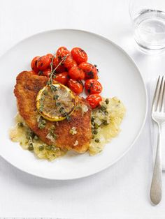 Low Calorie Dinners - Healthy Recipes -   Turkey piccata