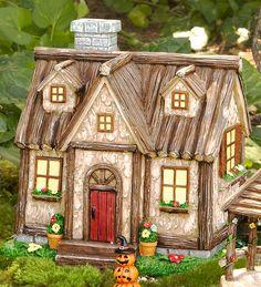 Woodland Fairy Garden Cottage | Miniature Fairy Gardens