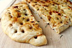 Smoked Paprika and Rosemary Focaccia
