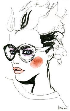 Fashion illustration // Lovisa Oliv