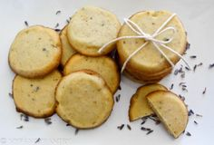 lavender honey cookies