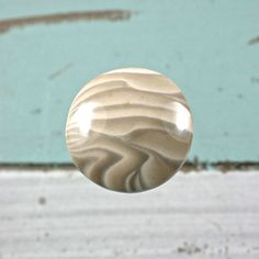Polish Flint gemstone round cabochon Dia.28mm by gemstonesworld on Etsy