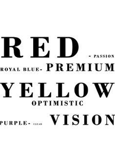 colors that define us.
