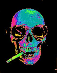 The perfect Trippy Skull Animated GIF for your conversation. Discover and Share the best GIFs on Tenor. Skull And Bones, Skull Artwork, Trippy, Skull, Hippie Art, Cool Skeleton, Art, Skulls Drawing, Heavy Metal Art