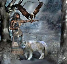 femme animaux