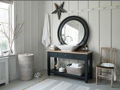 Create your own spa-like sanctuary with oak and marble bathroom furniture. Oak Bathroom, Bathroom Inspiration, Bathroom Furniture Design, Furniture, Bathroom Makeover, Round Mirror Bathroom, Bespoke Bathroom, Bathroom Interior Design, Bathroom Design