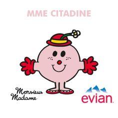 Voici ton Monsieur Madame • Monsieur Madame • evian