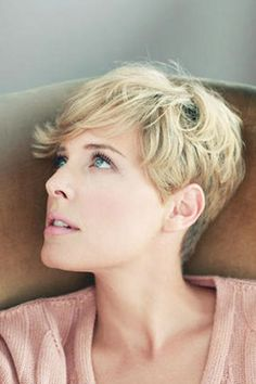 Wavy Pixie Cut// My next hair endeavor after I wear it long for a few years haha