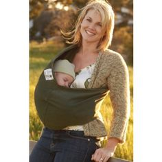 4fa3e99471b New Native Organically Grown Cotton Baby Carrier in Olive