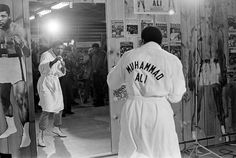 Muhammad Ali.  The Greatest.