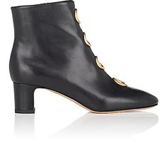 We Adore: The Ornament-Embellished Leather Ankle Boots from Valentino Garavani at Barneys New York