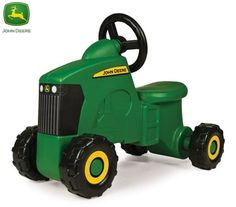 John Deere Kids Foot to Floor Tractor Ride-On | Crazy Sales $44.95