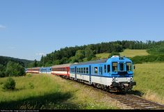 RailPictures.Net Photo: 842 013 5 Ceske Drahy CD 842 at Sebanov, Czech Republic by Jaroslav Dvorak