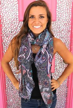 Floweret Scarf....so many scarves to choose from!