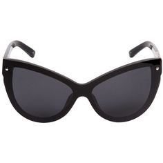 d93bba044295 3.1 PHILLIP LIM X LINDA FARROW Cat Eye Mask Acetate Sunglasses (1