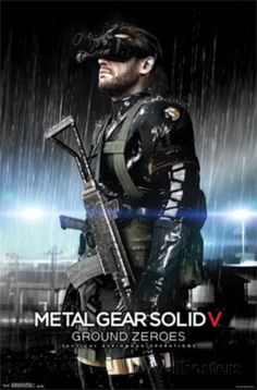 Buy Metal Gear Solid 5 on at Mighty Ape NZ. Metal Gear Solid V: Ground Zeroes for – Tactical Espionage Operations, a Hideo Kojima game. Ground Zeroes acts as a prologue to Metal Gear Solid . Boss Wallpaper, Graphic Wallpaper, Wallpaper Gallery, Playstation, Xbox 360, Video Game Art, Video Games, Soundtrack, Revolver Ocelot