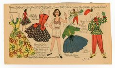 77.6187: Grace | paper doll | Paper Dolls | Dolls | Online Collections | The Strong